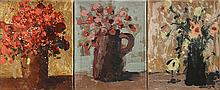 Paintings, Assorted Floral Still Lifes