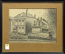 Drawing, Portrait of a House