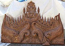 Southeast Asian architectural fragment