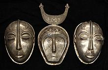 Toradya people style, Indonesia, decorative masks