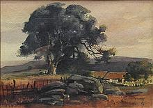 Watercolor, Attributed to Percy Gray