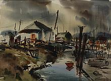 Watercolor, Harold Gretzner