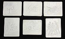 Continental porcelain erotic lithopanes