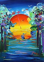 Painting, Peter Max, Better World