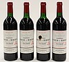 (lot of 4) 1986 Chateau Lynch & Bages Pauillac, Bordeaux, France, each 750ml