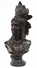 Sculpture, Bust of an Indian Chief