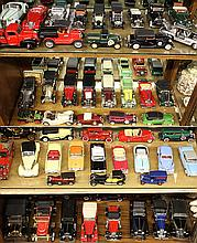 (lot of 55) Collection of die-cast model classic cars