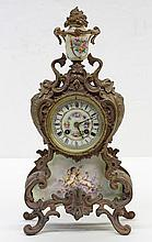 French gilt bronze mantle clock by Japy Frères
