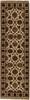INDIA KHORASAN ORIENTAL RUG, 2-7 X 8-6, 100% WOOL, HAND WOVEN & HAND KNOTTED