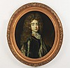 19TH C. OIL ON CANVAS OVAL PORTRAIT OF YOUNG GENTLEMAN