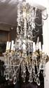 Louis XV Style 12 Light Chandelier