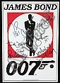 James Bond Autographed Movie Memorabilia
