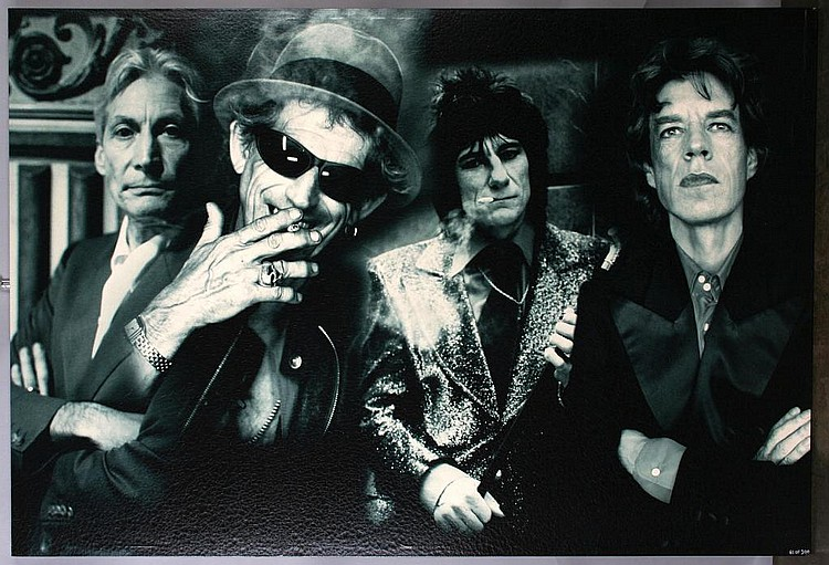 Rolling Stones Montage Giclee Print