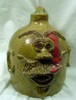 East TN Joppa Mountain Pottery Face Jug