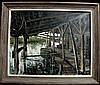 Bayou Sara  Painting Jim Gray 1965 Tenn & Maine Artist