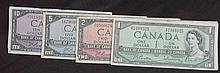 1954 Canadian Bills