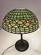 Tiffany Studios Leaded Pomegranate lamp