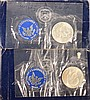 2- 1971-S  Eisenhower Silver Dollars Blue Pack