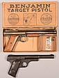Lot of (2) air pistols: an all metal Daisy No. 118 Target Special, blued, 10-1/4