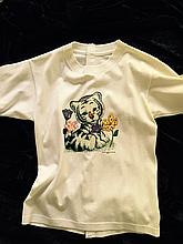 Britney Spears stage worn t-shirt depicting a baby tiger