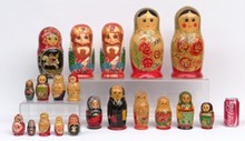 Russian Nested Doll Lot