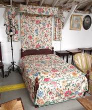 Rare 18th c. Folding Bed