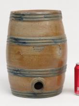 19th c. Crolius New York Stoneware Water Cooler