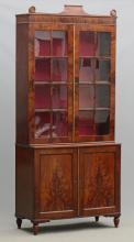 19th c. English Mahogany Bookcase