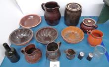 19th c. Pottery & Misc. Lot
