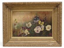 19th c. Floral Painting