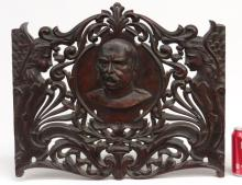 Carved Wall Plaque