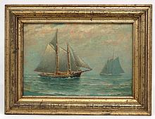 James J. McAuliffe (1848 - 1921), Seascape