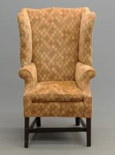 18th c. Rhode Island Wing Chair