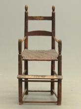 19th c. Child's Highchair