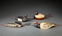 Two Miniature Decoys