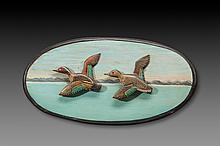 Green-Winged Teal Plaque