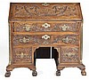 Carved Chippendale Style Fall Front Desk