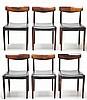 Set of 6 Danish Modern Chairs
