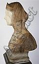 Prof. G. Besgi Marble Bust of Beatrice
