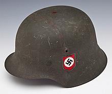 German WWII Era M-42 Helmet