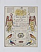 1851 Johann Ritter Hand Colored Fraktur