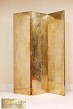 RODOLFO DUBARRY - FOLDING SCREEN WITH THREE PANELS