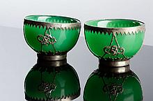 PAIR OF ORIENTAL BOWLS