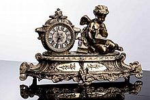 FIGURATIVE TABLE CLOCK