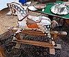 Twentieth century rocking horse, 94cm high