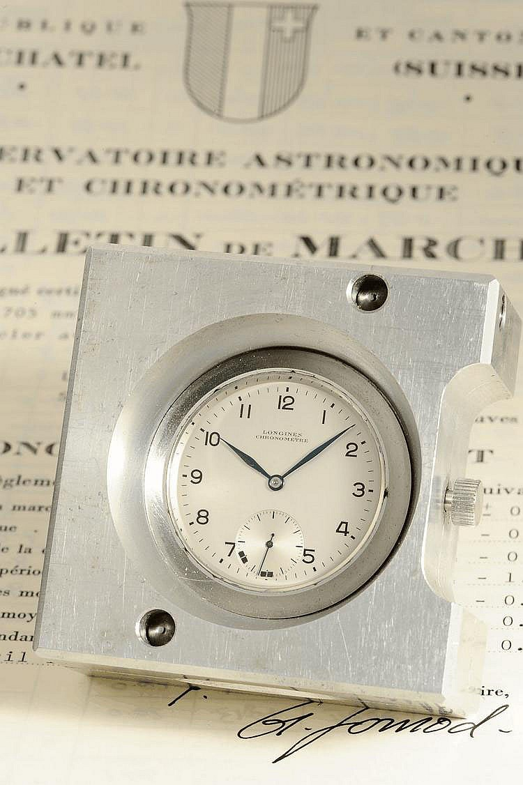 Longines Chronomètre, Movement No. 10972232, Cal. 360, 71 x 70 x 32 mm, circa 1956
