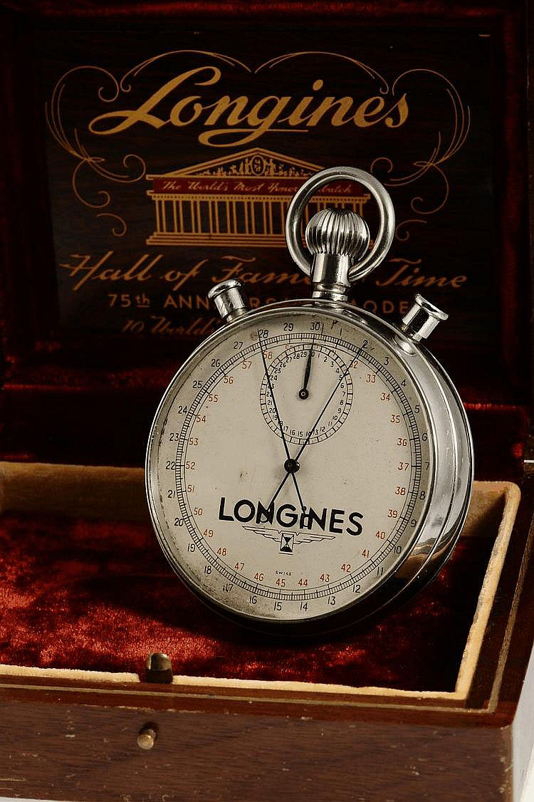 Longines Watch Co., Swiss, Movement No. 5799025, Case No. 20463, Cal. 24''', 66 mm, 245 g, circa 1938