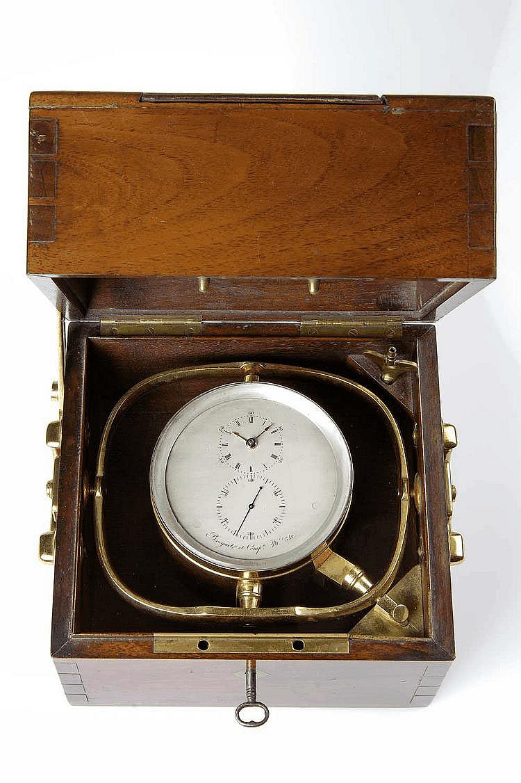 Breguet et Comp., No. 342, 200 x 185 x 185 mm, circa 1856