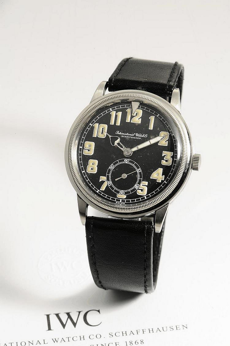 International Watch Co., Schaffhausen, Movement No. 945760, Case No. 987932, Cal. 83, 38 mm, circa 1937