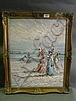 Marie Charlot, an oil on canvas, Edwardian women, Marie Charlot, Click for value